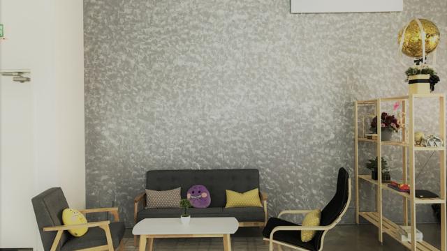 Comfort Sofa area